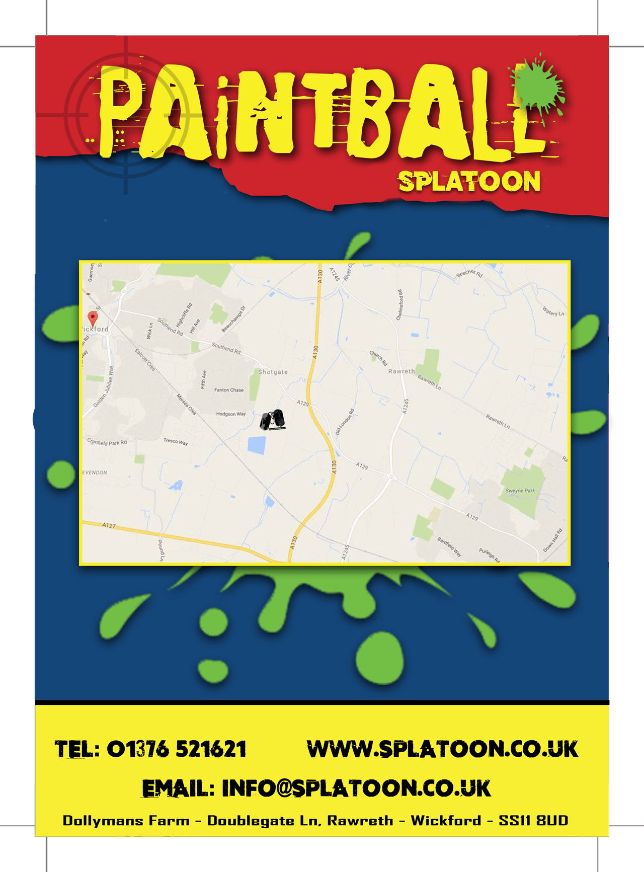 Downloads Splatoon Paintball - Cant find us on map